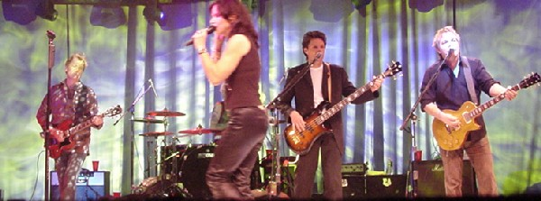 Kasim Sulton with Scandal at the Westbury Music Fair - 02/11/05