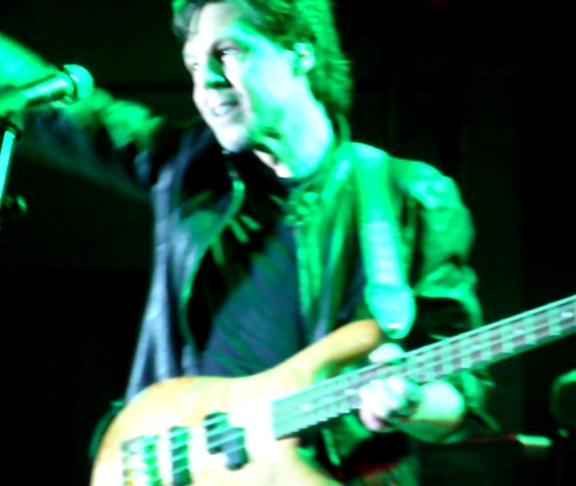 Kasim Sulton with Blue �yster Cult in Minehead, England - 2/9/14