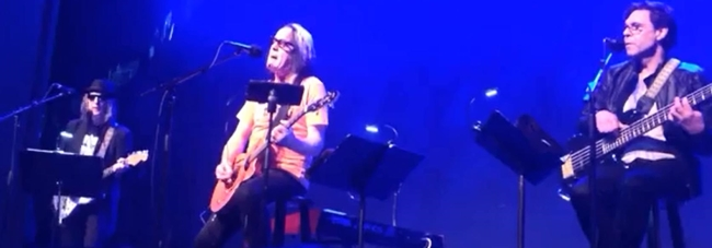 Kasim Sulton and Todd Rundgren at The Newton Theatre, Newton, NJ - 22nd March 2014