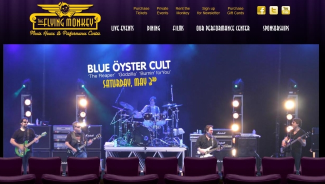 Blue �yster Cult and Kasim Sulton venue