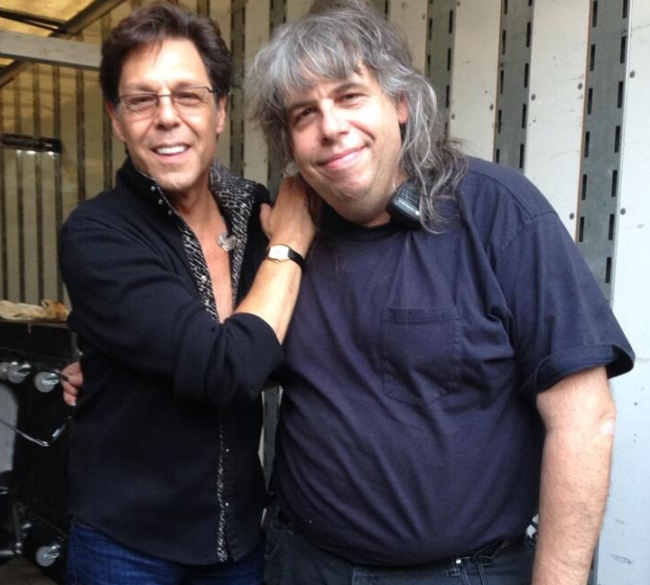 Kasim Sulton with Billy Sheldon