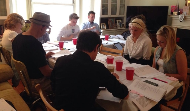 Kasim Sulton at indy film table read
