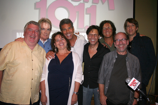 Kasim Sulton at Scott Shannon�s 101st Show Celebration at City Winery, New York with Mark Rivera - 8/1/14
