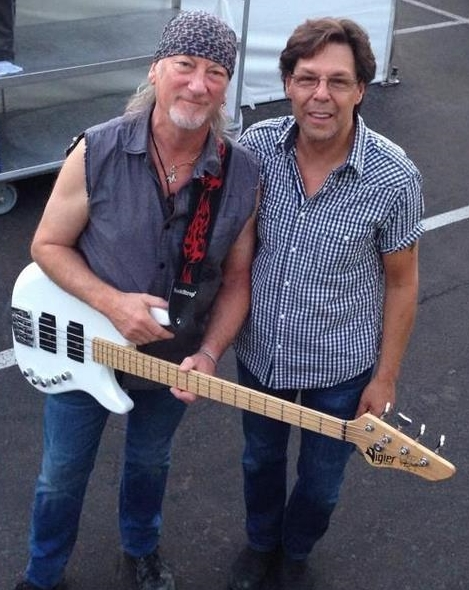 Kasim Sulton with Roger Glover