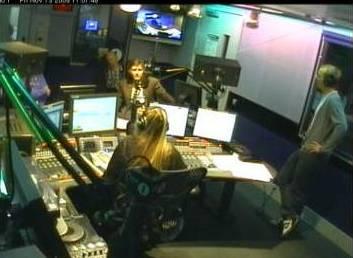 David Tennant on Radio One