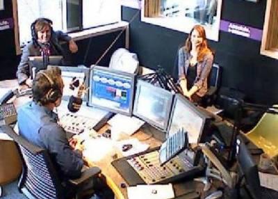 David Tennant on Absolute Radio - photo Vanessa Aisha