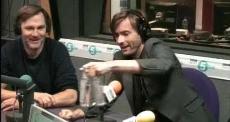 David Tennant on The Richard Bacon Show on Radio 5 Live - 10/07/10