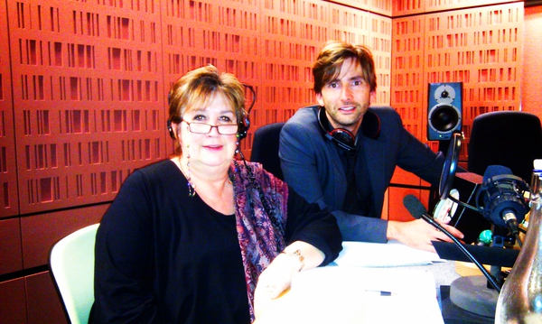 David Tennant on Woman's Hour with interviewer Jenni