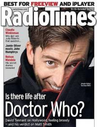 David Tennant Radio Times cover