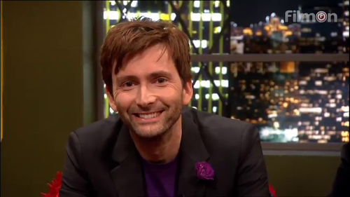 David Tennant on Jonathan Ross Show