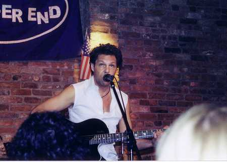 Kasim Sulton at The Bitter End - 09/28/02 (Photo by Gina Martin)