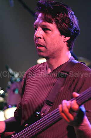 Kasim Sulton as part of The Pat Travers Band 3/22/03 (Photo by Jennifer Salyer)