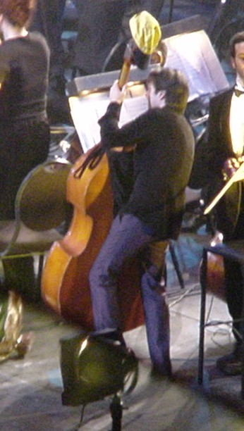 Kasim Sulton playing the double bass - full story to be added to the NOTP section of the site soon