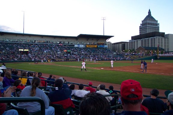 Frontier Field - photo by Scott Van Dusen