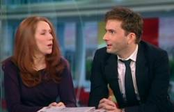 David Tennant and Catherine Tate on BBC Breakfast