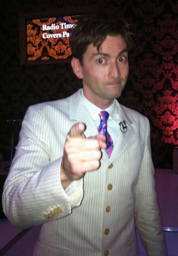 David Tennant at Radio Times Covers Party