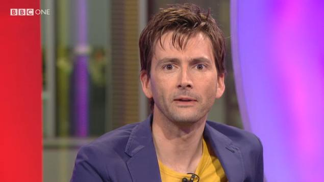 David Tennant on The One Show - photo by Ariel