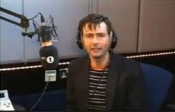 David Tennant on BBC Radio One Breakfast Show