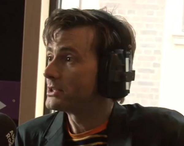 David Tennant on Absolute Radio Breakfast Show