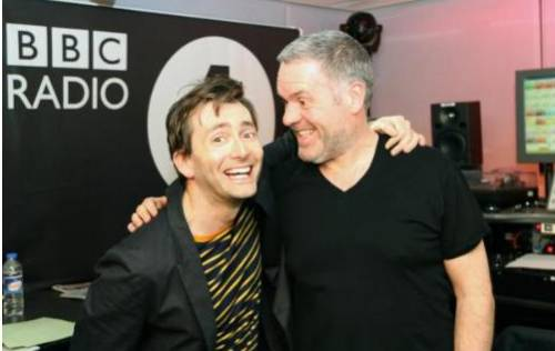 David Tennant on BBC Radio One Breakfast Show - March 2012