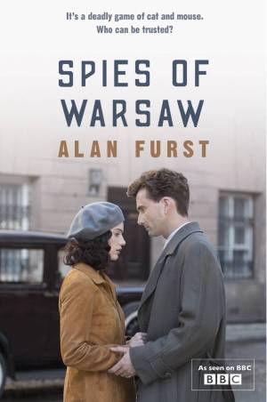 David Tennant on The Spies Of Warsaw cover