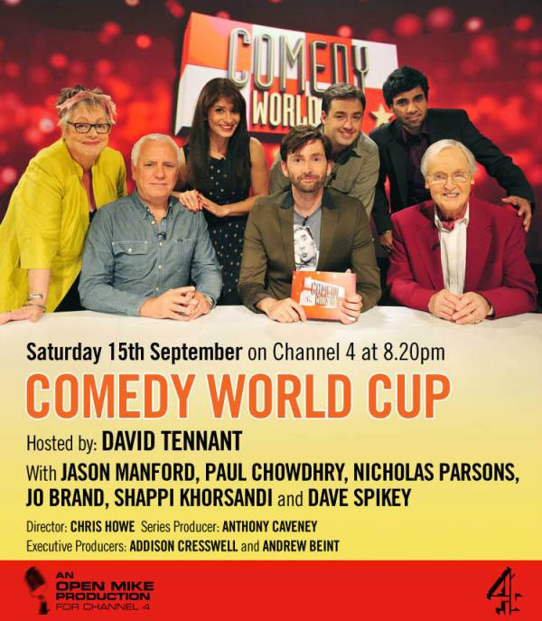 David Tennant - Comedy World Cup