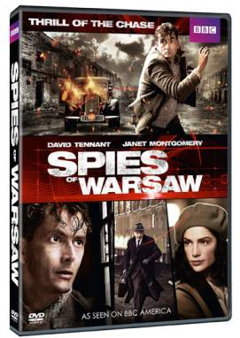 David Tennant - Spies Of Warsaw DVD
