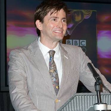 David Tennant at BBC Audio Drama Awards