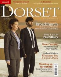 David Tennant on cover of Dorset Magazine