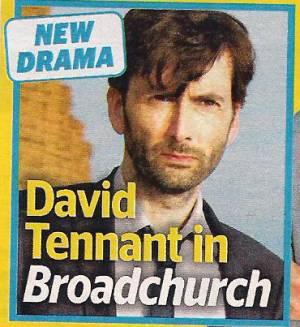 David Tennant in Broadchurch