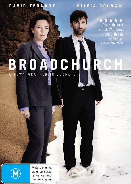 Cover of Broadchurch DVD in Australia