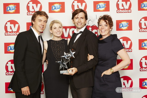 David Tennant at TV Choice Awards - 9th September 2013
