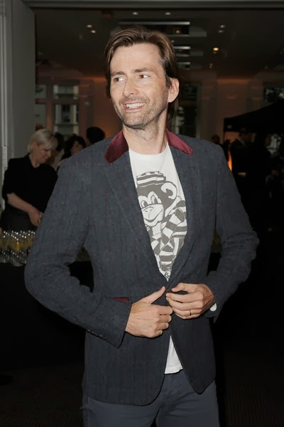 David Tennant at Sunshine On Leith screening at BAFTA - 23rd September 2013
