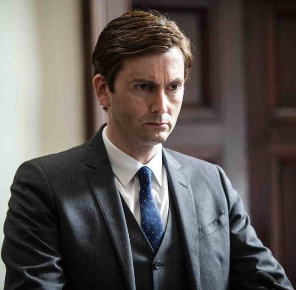 David Tennant in The Escape Artist