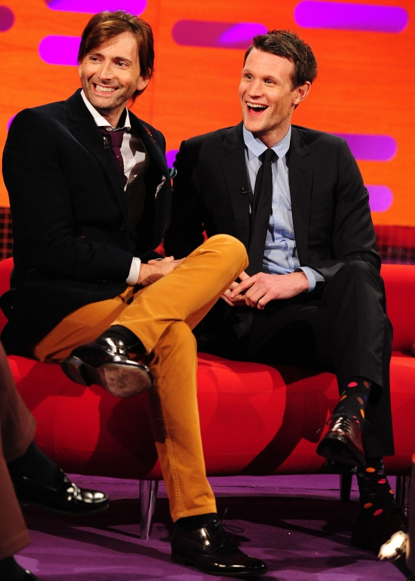 David Tennant and Matt Smmith on The Graham Norton Show