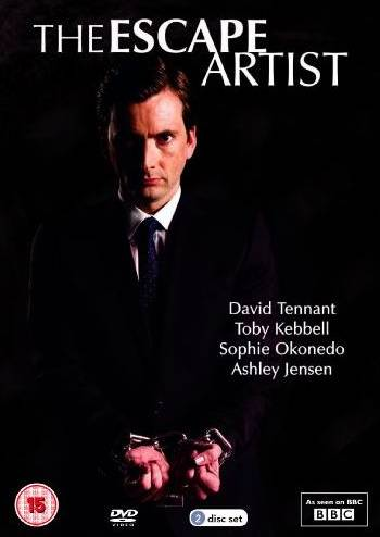 David Tennant on cover of The Escape Artist DVD