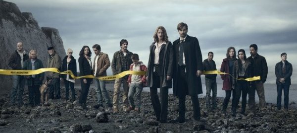 David Tennant in Gracepoint Episode One